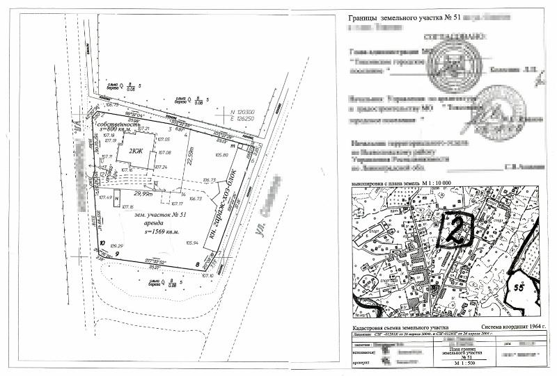 ситуационный план расположения объекта с привязкой к территории образец - фото 2